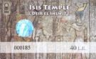 Ticket Isis Tempel.