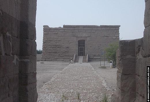 Tempel van Isis op de westbank van Luxor.