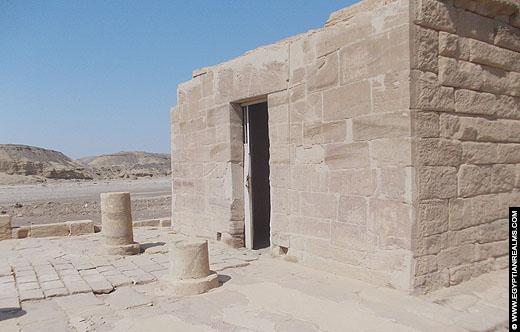 Tempel van Nekhbet in El-Kab.