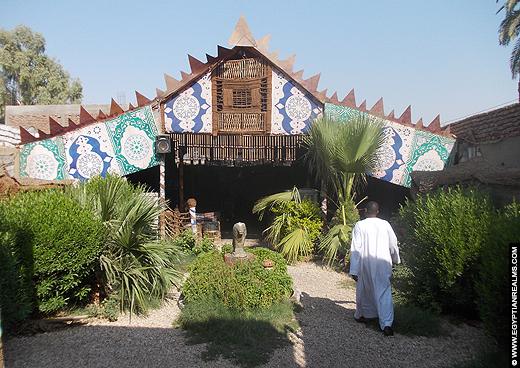 Nubian Lounge in Luxor.