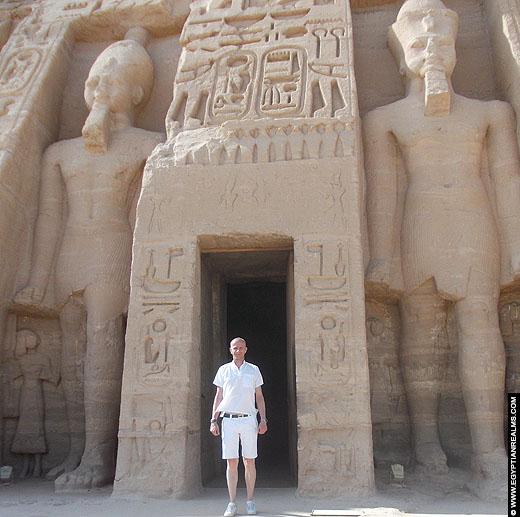 Tempel van Abu Simbel in Aswan.