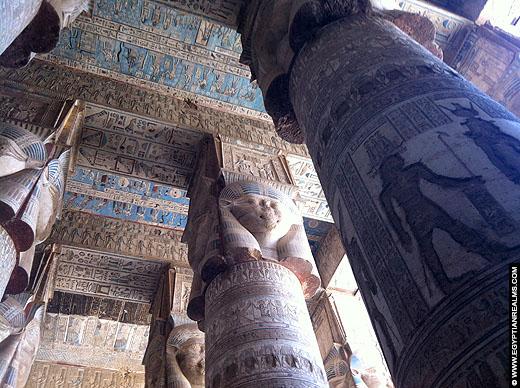 Tempel van Hathor te Dendera