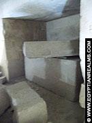Sarcofaag in de Mastaba te Meidum.