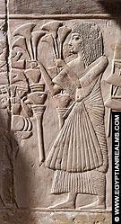 Relief bij Saqqara.