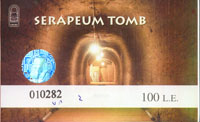 Ticket Serapeum Tomb