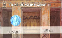 Ticket Tomb Mersy Ankh III