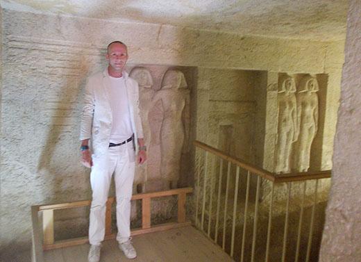 In de Tombe van Mersy Ankh III.