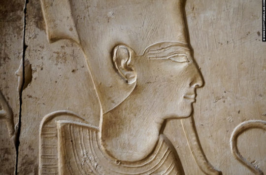 Relief of Osiris at Abydos