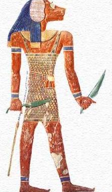 Egyptian guardian Pefesakhuef.