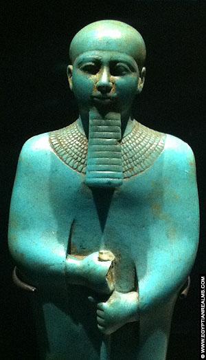 Statue of Ptah. RMO Leiden.