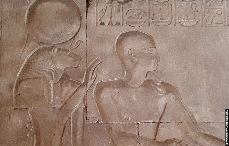 Relief of Sakhmet and Ptah from Abydos