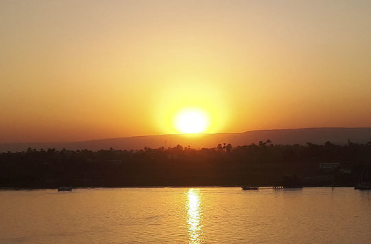 Sunset Luxor Westbank.