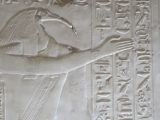 Relief of Thoth from the Abydos temple.