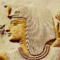 Relief of pharao Seti I.
