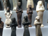 Ancient Egyptian Ushabti at the RMO, The Netherlands.