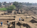 Egyptian archeological discovery.