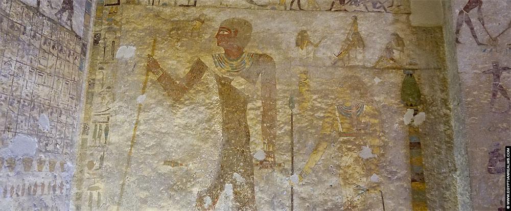 Tomb of Khety at Beni Hassan.