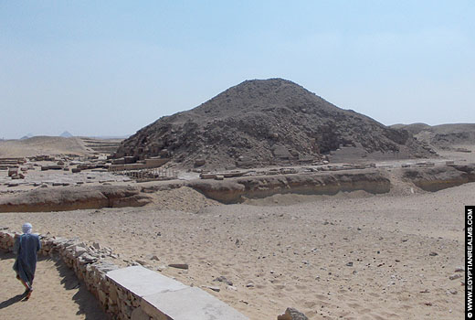 Pyramid of Unas at Saqqara.