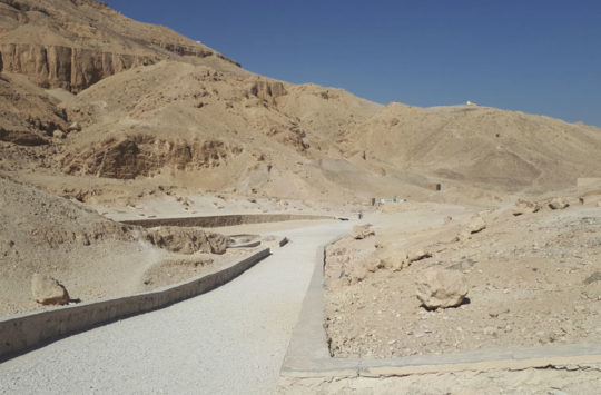 Valley of the Queens at westbank Luxor.