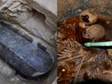Sarcophagus found at Alexandria.