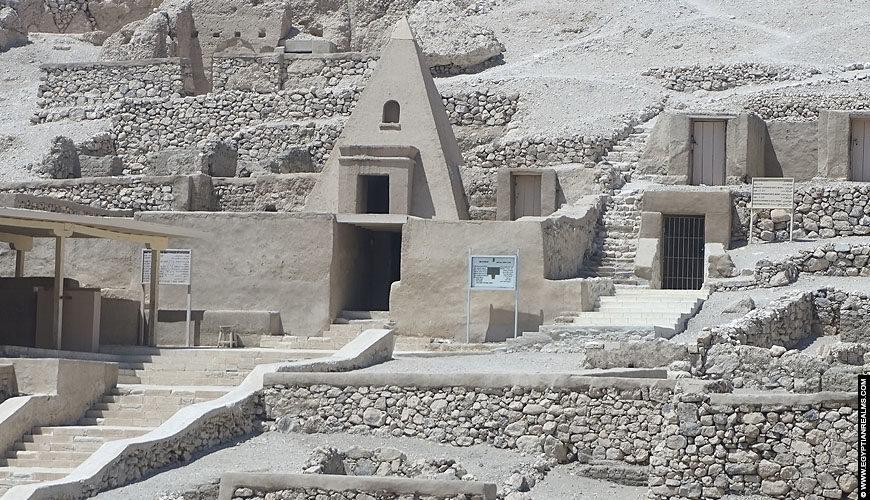 Tombs of Deir el-Medina.