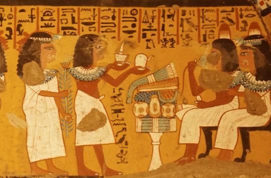 Tomb of Nakht-MIn at Deir el-Medina.