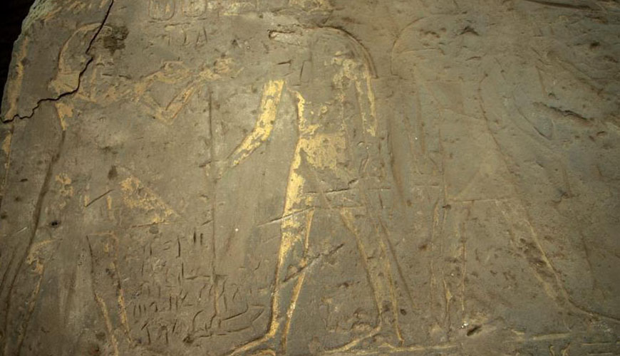 Egyptian reliefs found at Aswan