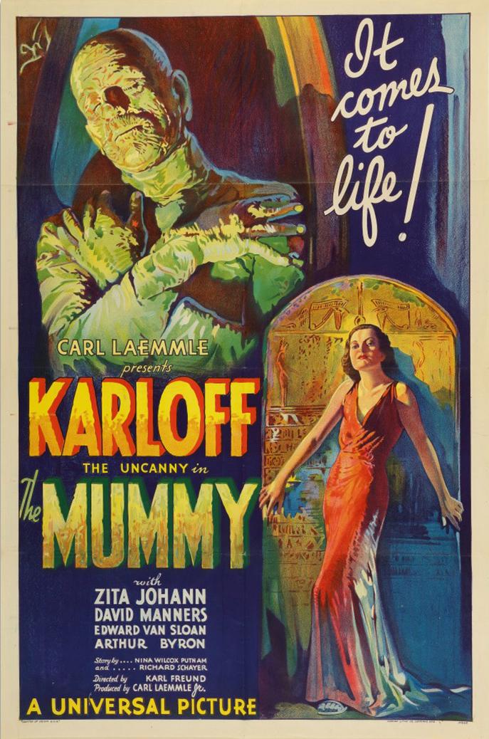 Mummieposter uit 1932 wordt geveild