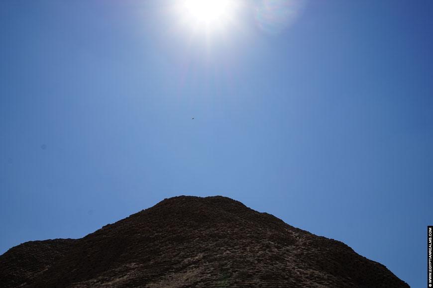 Pyramid of Amenemhat III at Hawara.