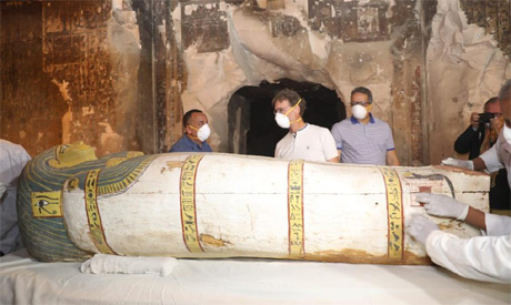 Tomb discovered at Luxor