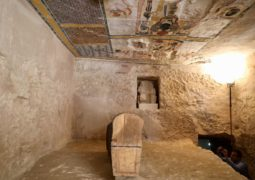 Mummy discovered on westbank Luxor