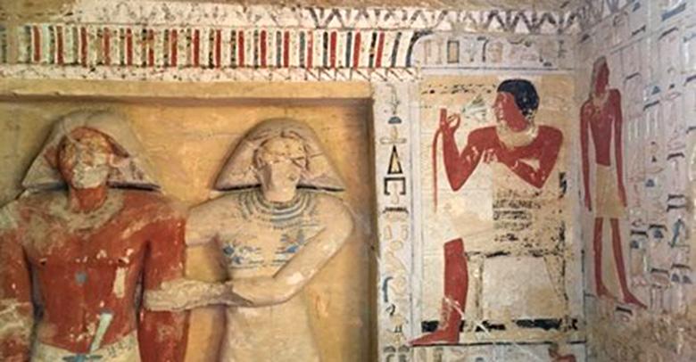 Tombe geopend te Saqqara.