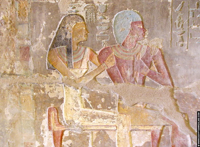 Parents of Renni in tomb EK 7