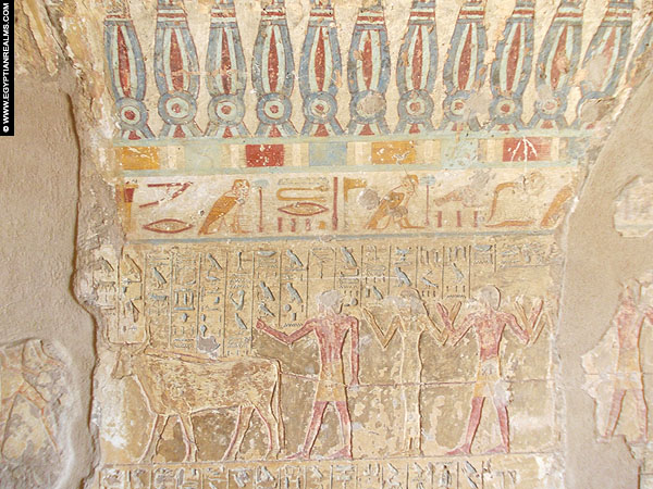 Scene from the tomb of Renni - EK 7