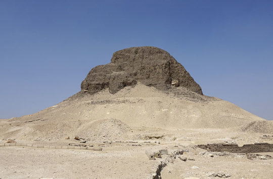 Senusret II Piramide at El-Lahun, Egypt.