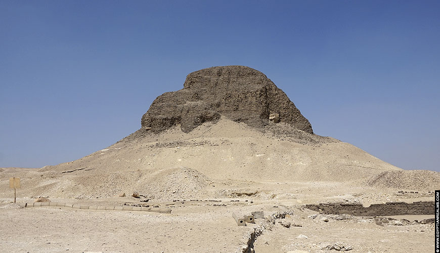 Senusret II Piramide at El-Lahun, Egypt.