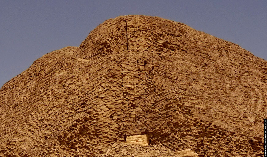 Senusret II Piramide at El-Lahun, Egypt