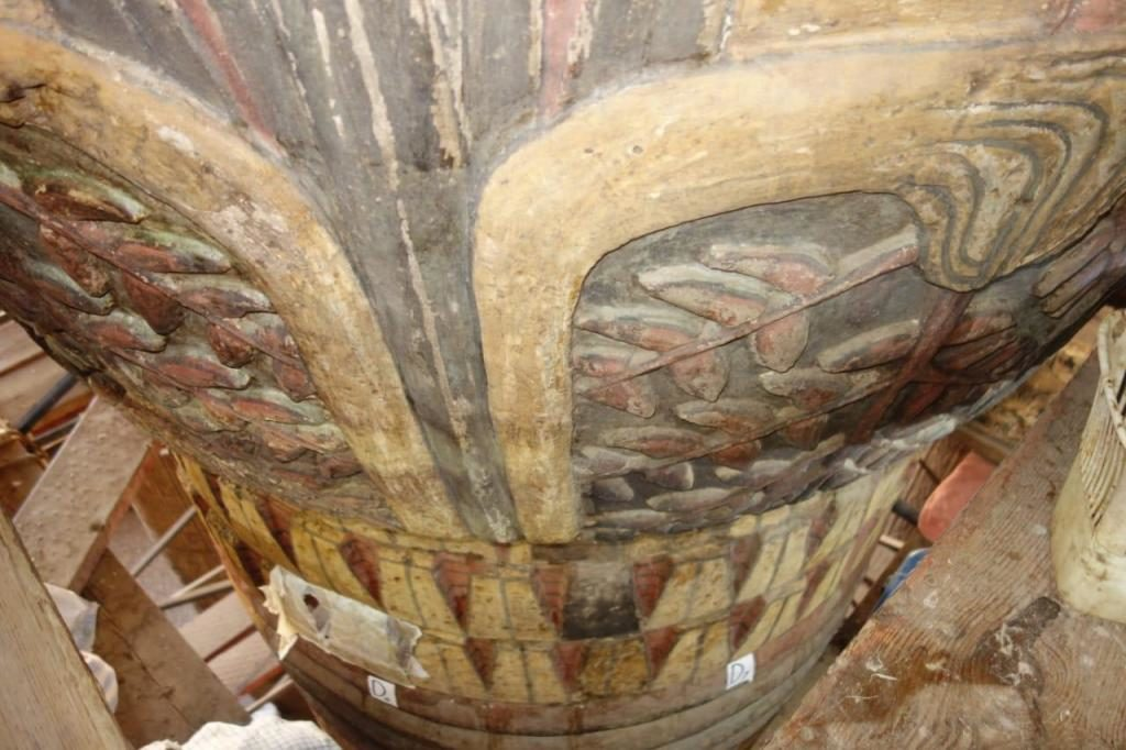 Esna Temple restauration image Luxor Times