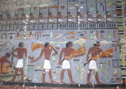 Tomb found at Saqqara, image Ahram Online.