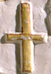 Ancient Egyptian hieroglyph cross