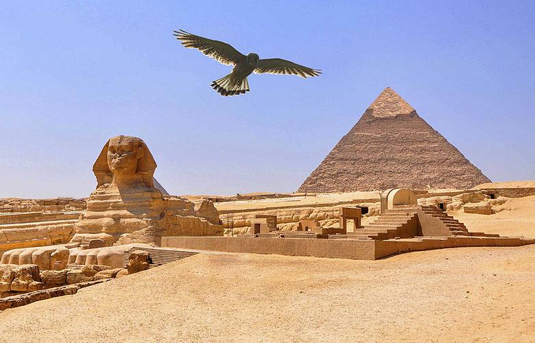 Piramide van Chephren.