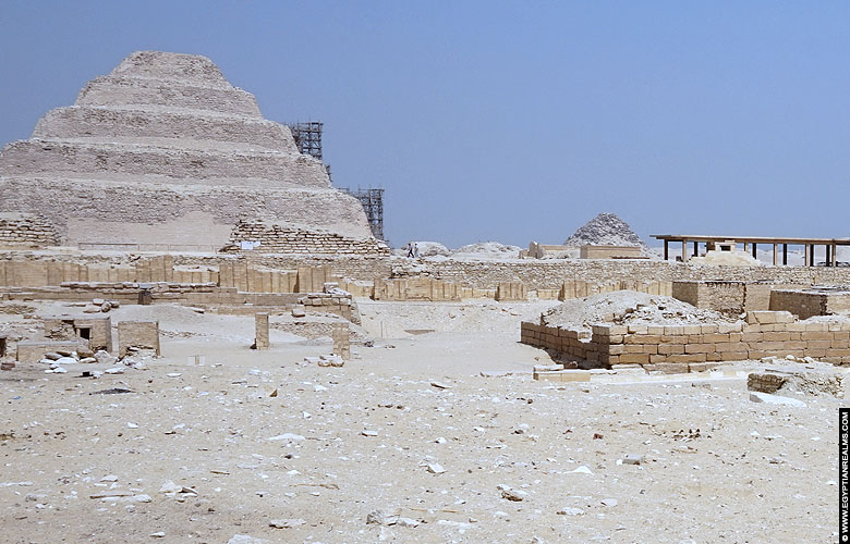 Djoser Steppyramid at Saqqara, Egypt
