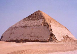 Bent Pyramid of Pharaoh Sneferu at Dahshur