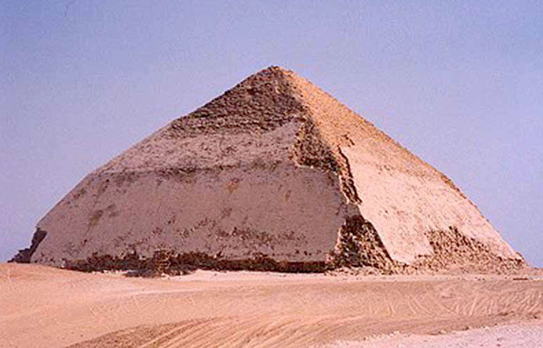 Bent Pyramid of Pharaoh Sneferu at Dahshur