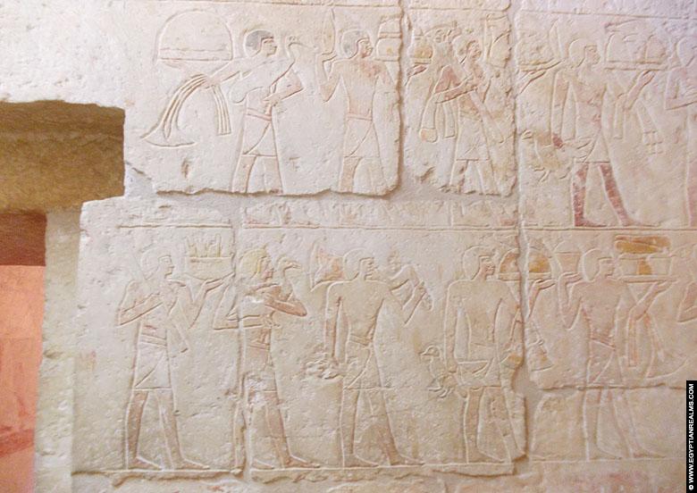 Mastaba tomb of visor Inefert at Saqqara