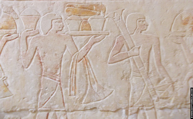 Mastaba tomb of visor Inefert at Saqqara