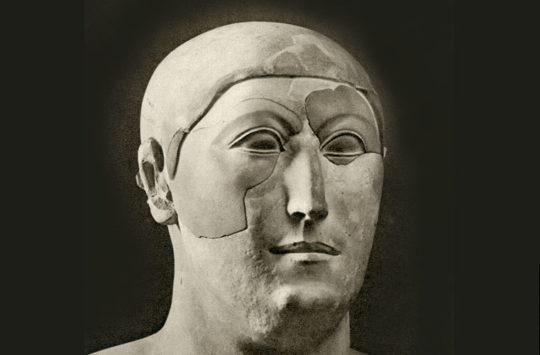 Statue of visor Hemiunu