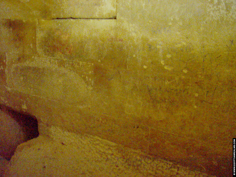 Inside the pyramid of queen Hetepheres at Gizeh