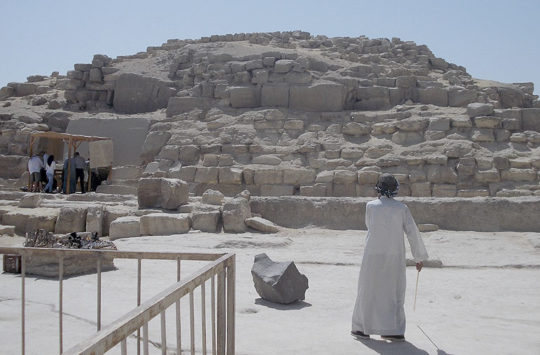 Pyramid of queen Hetepheres