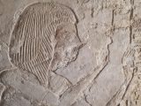 Depiction of Ramose from his tomb at Tell el-Amarna.
